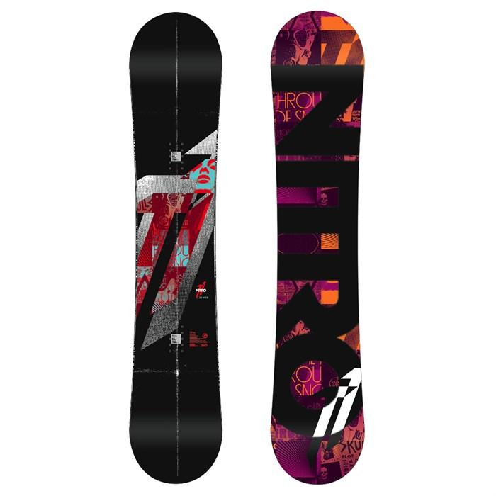 Nitro - T1 Zero Wide Snowboard 2012