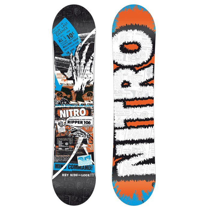 Nitro - Ripper Snowboard - Youth 2012