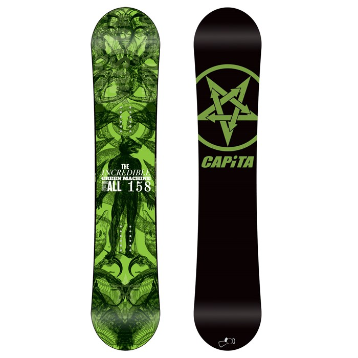 CAPiTA - Green Machine FK Snowboard 2012