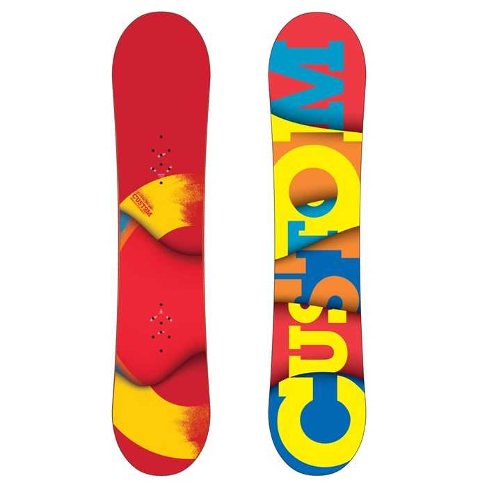 Burton - Custom Smalls Snowboard - Youth 2012