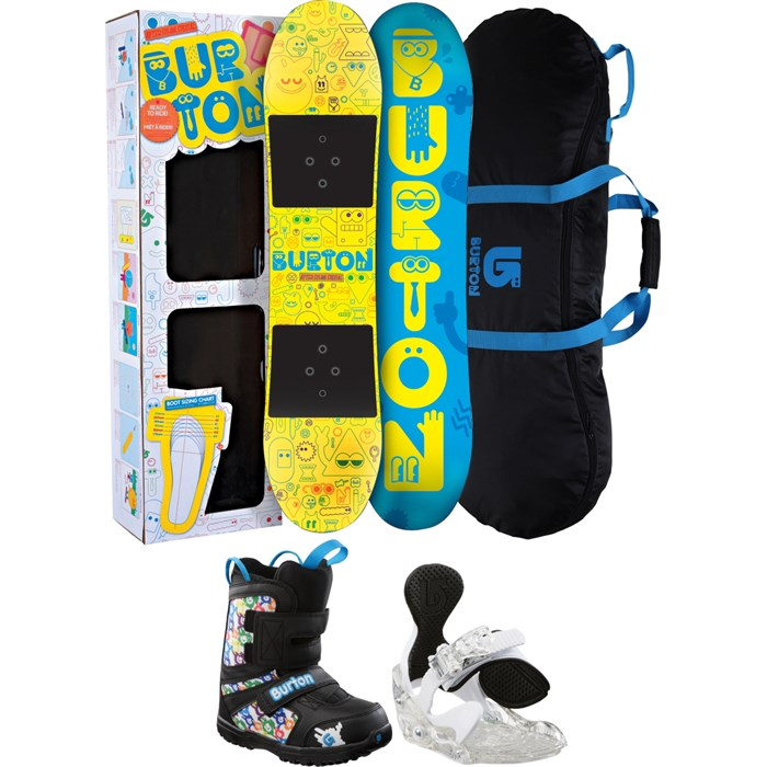 a72299fa1b9f Burton After School Special Snowboard Package 2012