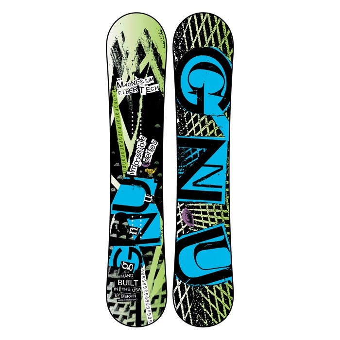 GNU - Impossible Series EC2BTX Snowboard 2012