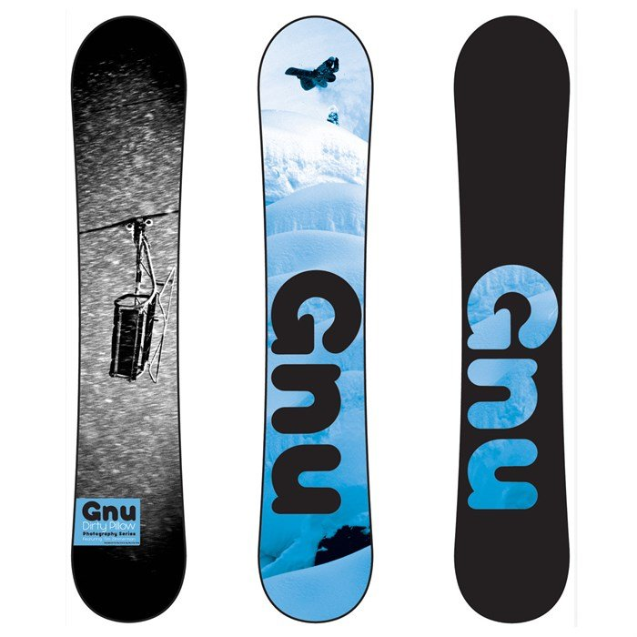 GNU - Dirty Pillow BTX Snowboard 2012
