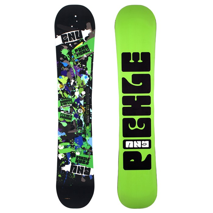 GNU - Park Pickle PTX Wide Snowboard 2012