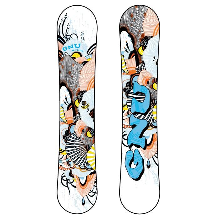 GNU - B-Mini BTX Snowboard - Youth 2012