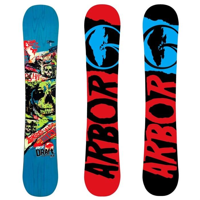 Arbor - Draft (Blue) Snowboard 2012