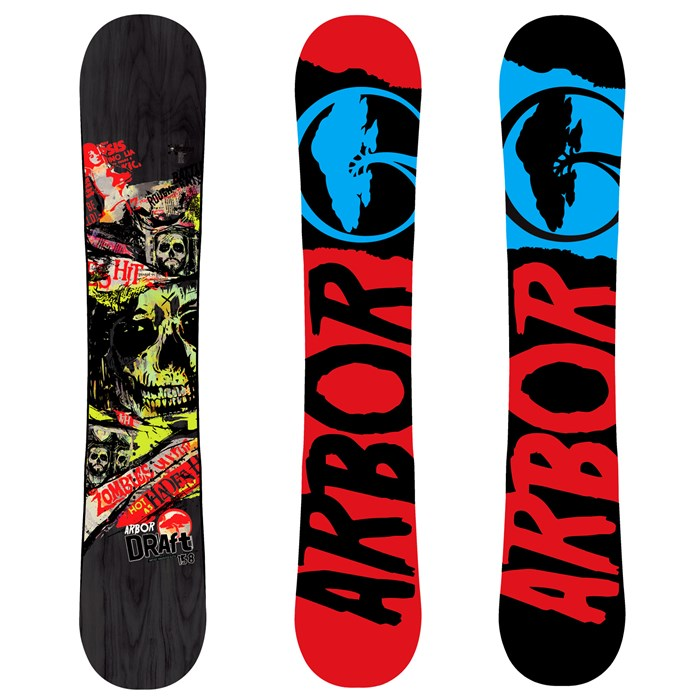 Arbor - Draft (Black) Snowboard 2012