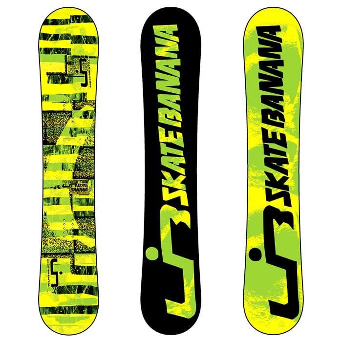 Lib Tech - Skate Banana BTX (Yellow/Green) Wide Snowboard 2012