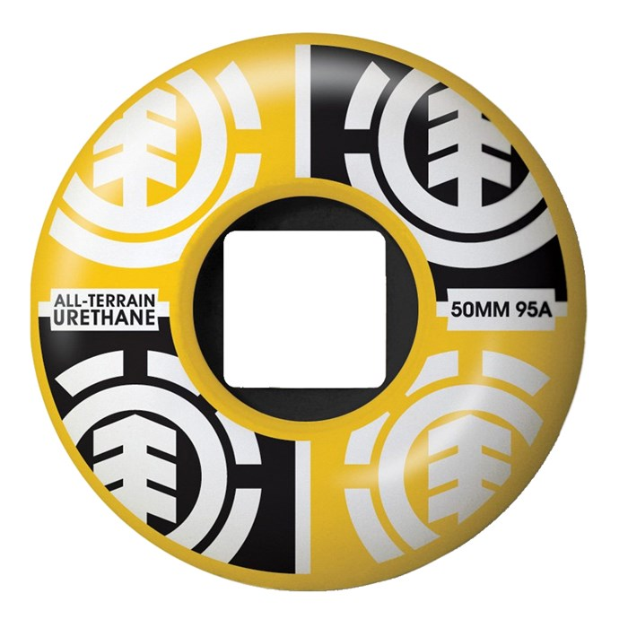 Element - Quadrant Yellow Skateboard Wheels