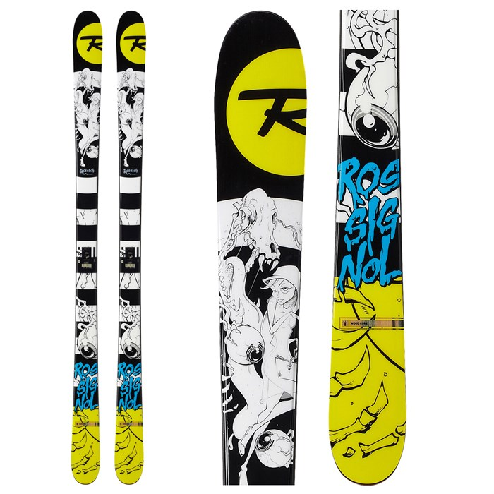 Rossignol - Scratch Skis 2013
