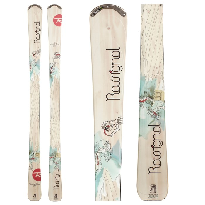 Rossignol - Temptation 82 Skis - Women's 2012