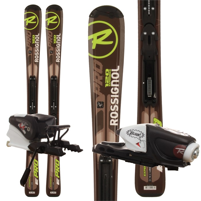 Rossignol - Experience Pro Skis + Xelium Kid 45 Bindings - Youth 2012