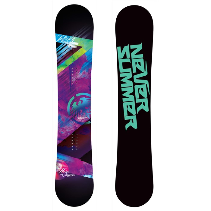 97576803897 Never Summer Infinity Snowboard - Women s 2012