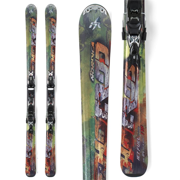 Nordica - Hot Rod Jet Fuel I-Core Skis + XBI CT Bindings 2012