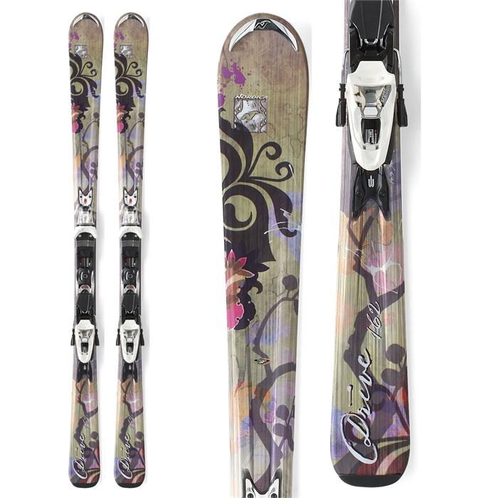 Nordica - Drive Skis + XBI CT Bindings - Women's 2012