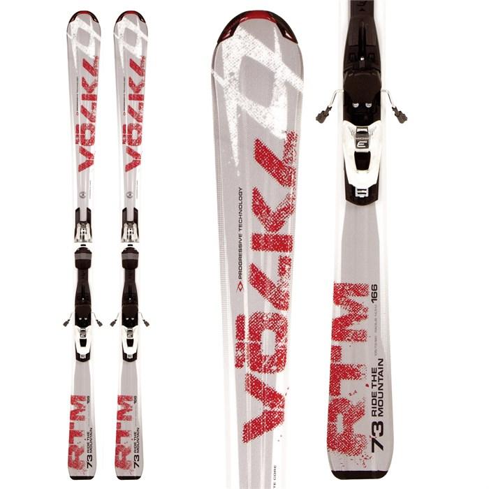 Volkl RTM 73 Skis + 3Motion TL 10.0 Bindings 2012