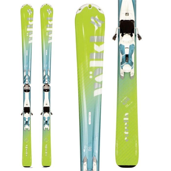 Volkl Estrella (Green) Skis + 3Motion 10.0 Bindings