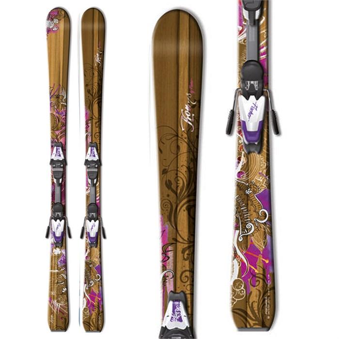 Fischer - Koa 78 RF Skis + V9 RF Bindings - Women's 2012
