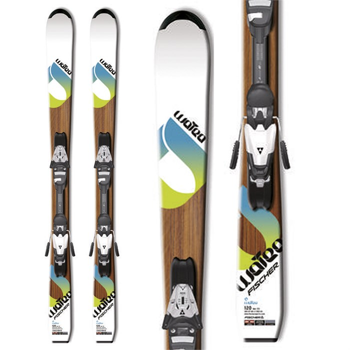 Fischer - Watea Jr Skis + FJ7 Jr RF Bindings - Youth 2012