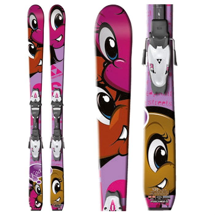 Fischer - Koa Jr Skis + FJ4 Jr RF Bindings - Youth 2012