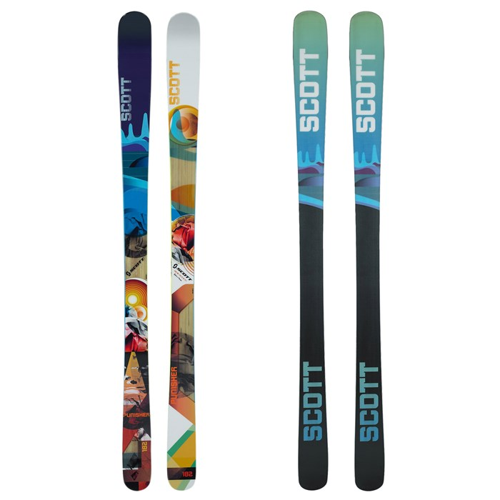 Scott - Punisher Skis 2012