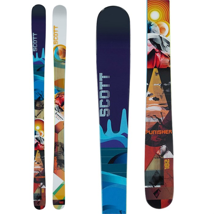 Scott - Punisher Jib Skis 2012