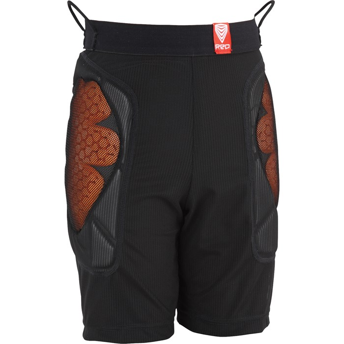 Red - Base Layer Shorts - Youth
