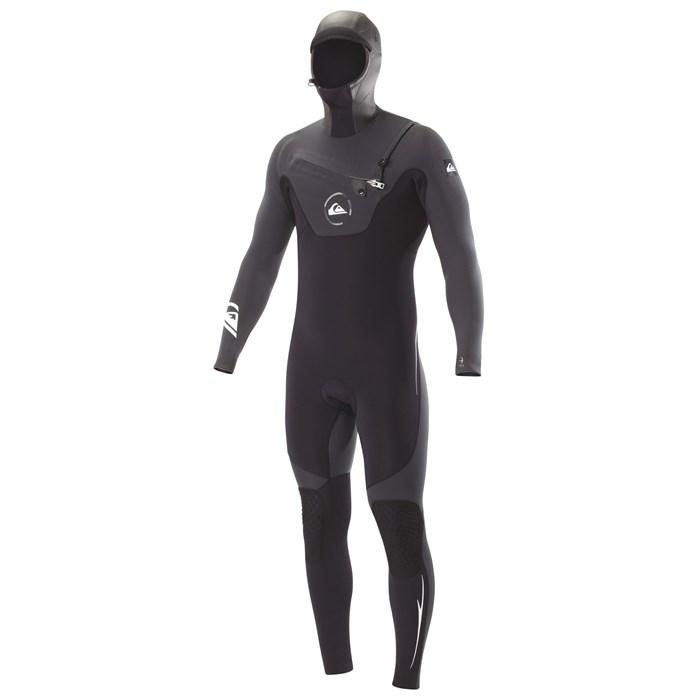 Quiksilver - 5/4/3 LS Hooded Chest Zip Wetsuit
