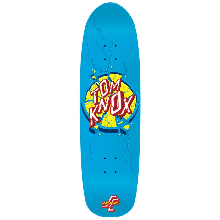 Santa Cruz - Knox Smashup Powerply Skateboard Deck