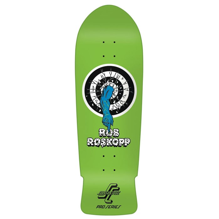 Santa Cruz - Rob Target 1 Green Reissue Skateboard Deck
