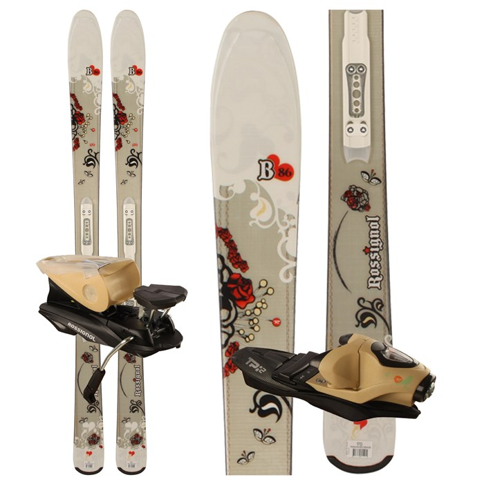 Rossignol - B86 W Skis + Saphir 110 Bindings - Women's            2009