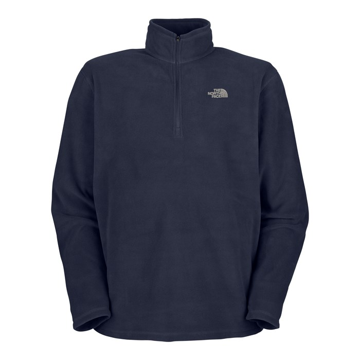 The North Face - TKA 100 Microvelour Glacier 1/4 Zip Top