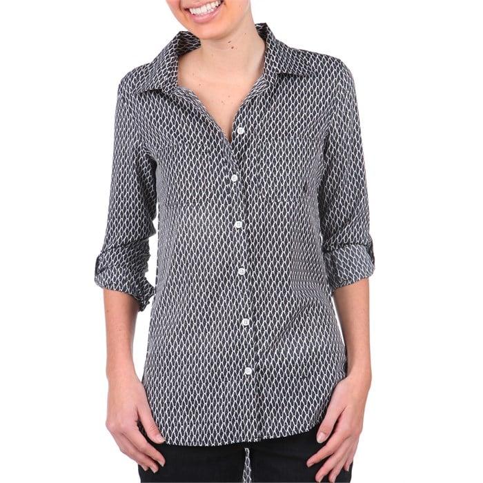 Volcom - Not So Classic Button Down Shirt - Women's