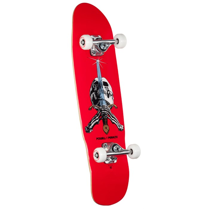 Powell - Peralta Mini Skull & Sword 8.0 Skateboard Complete