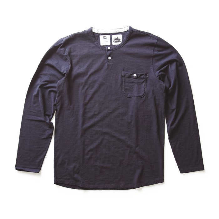 Analog - Hastings Long Sleeve Henley Shirt
