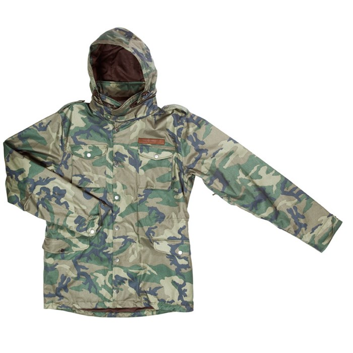 Holden - Phillips Inside-Out Camo Jacket