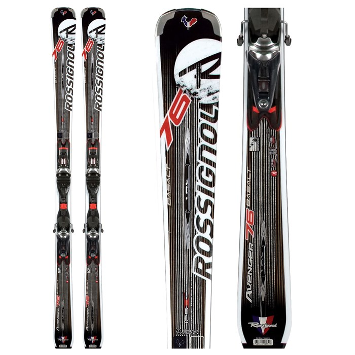 Rossignol - Avenger 76 Basalt Skis + TPI²/Axium 120 Bindings 2012