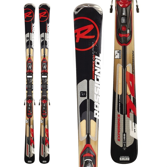 Rossignol - Experience 74 Carbon Skis + TPI²/Axium 100 Bindings 2012