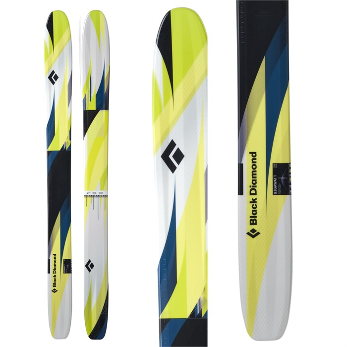 Black Diamond - Gigawatt Skis 2012