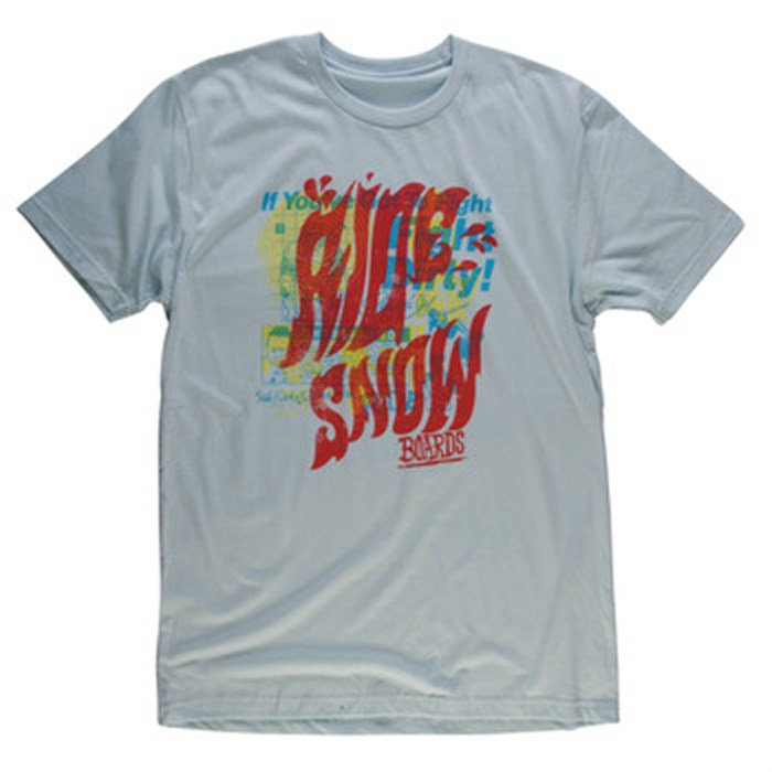 Ride - Groovy Logo Slim Fit T Shirt