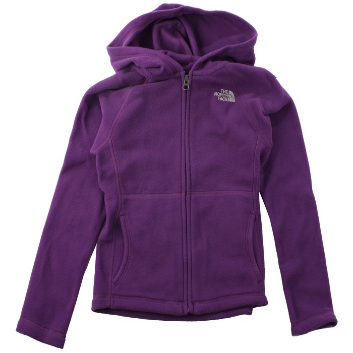 The North Face - Glacier Full Zip Hoodie - Youth - Girl's