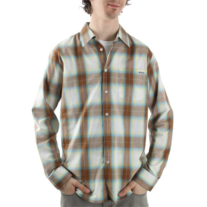 RVCA - Woody Plaid Button Down Shirt