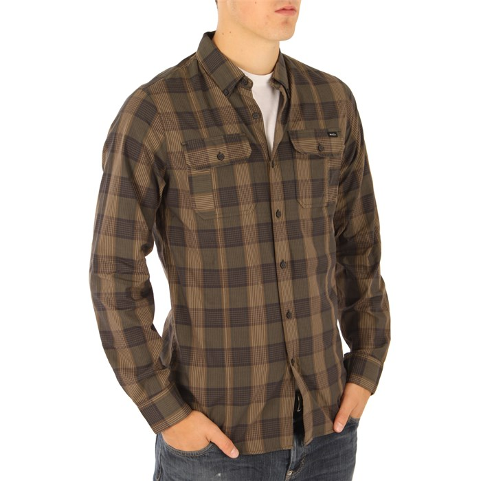 RVCA - Bleeker Noodle Button Down Shirt
