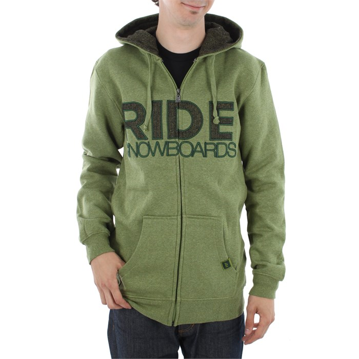 Ride - Heathered Full Zip Slim Fit Jacket