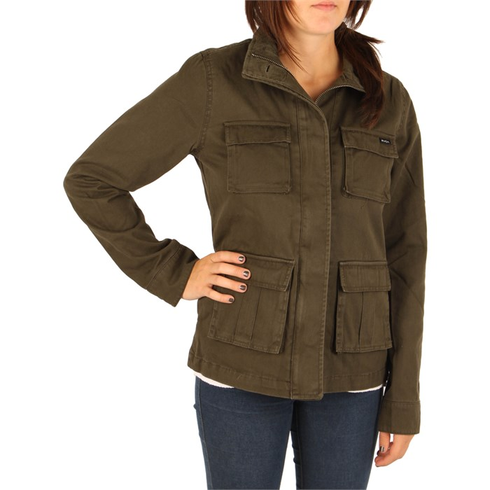 RVCA - Peace And Hate Jacket - Women's