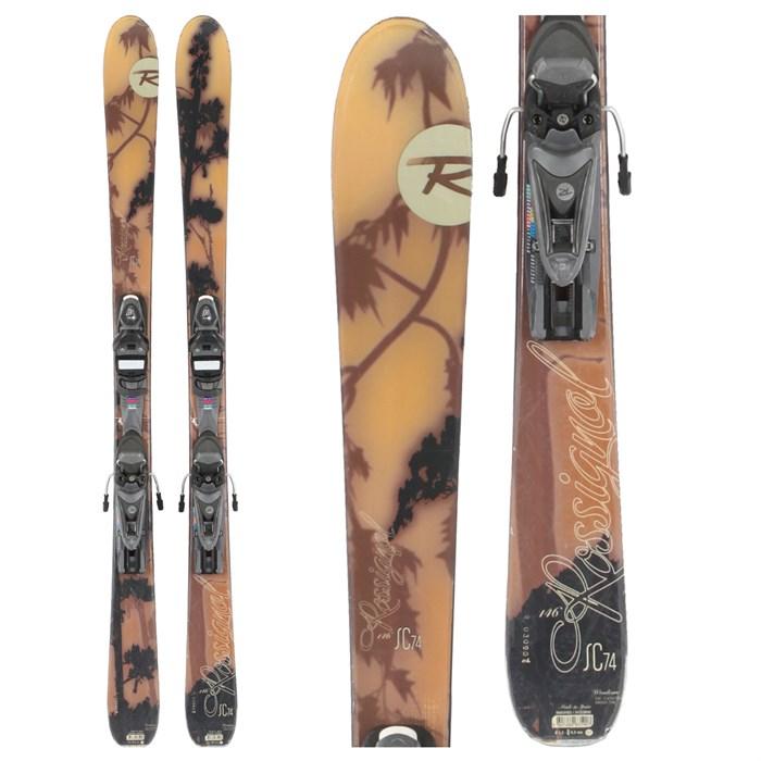 Rossignol SC 74 Skis + Bindings