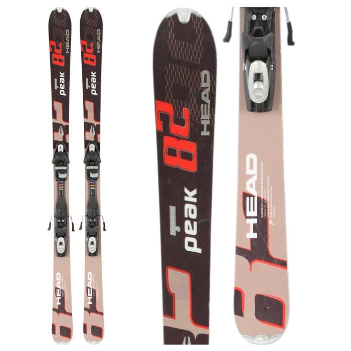 Head - Peak 82 Skis + Bindings - Used 2010 - Used