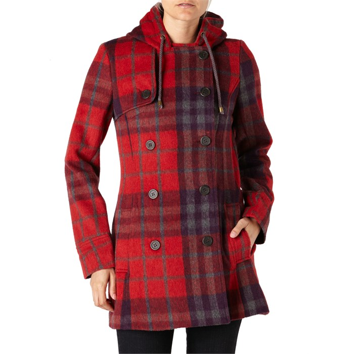 Quiksilver - Cascade Plaid Jacket - Women's