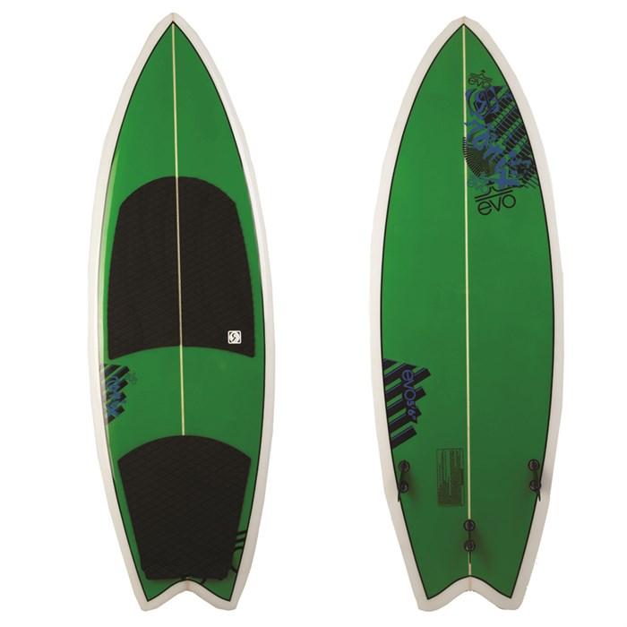 Ronix - evo Koal Custom Wakesurf Board 2011