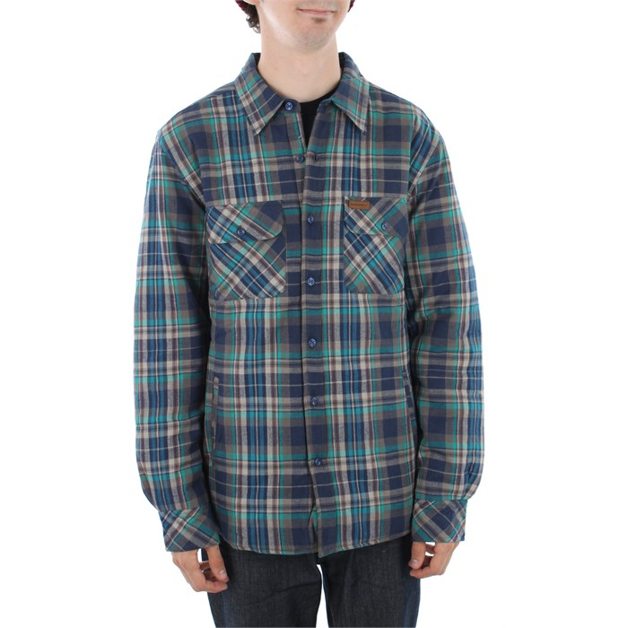 Elwood - Harvey Quilted Flannel Button Down Shirt